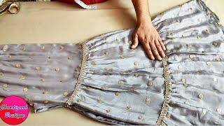शरारा की फुल कटिंग स्टिचिंग सीखे हिंदी में || Stylish Sharara Suit Cutting and Stitching Easy Method