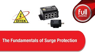 DITEK - The Fundamentals of Surge Protection 2018/11/13