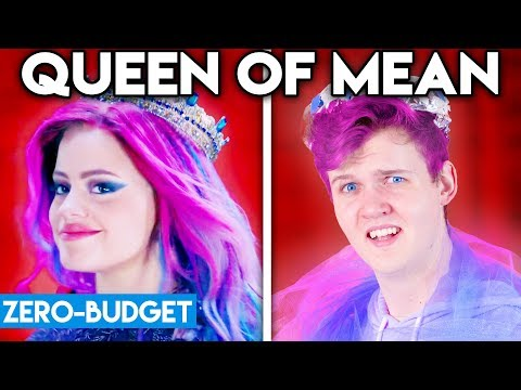 DESCENDANTS WITH ZERO BUDGET! (Queen of Mean PARODY)