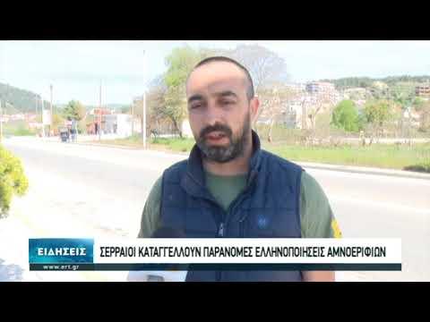 Σερραίοι καταγγέλλουν παράνομες ελληνοποιήσεις αμνοεριφίων | 17/4/2020 | ΕΡΤ