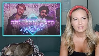 AMERICAN REACTS: Summer Cem Ft. KC Rebell   ROLLERBLADES