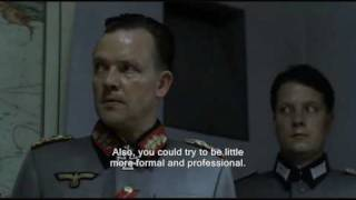 Hitler auditions for weather forecaster