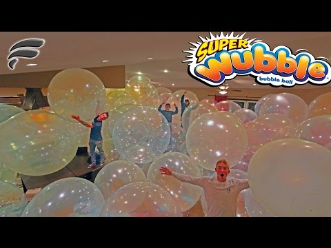 HOUSE COMPLETELY FILLED WITH WUBBLE BUBBLES!