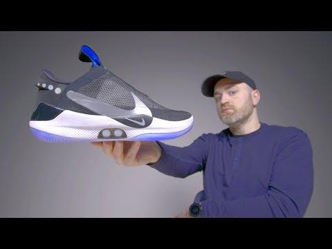 Nike Adapt BB Unboxing - Futuristic Self Lacing Sneakers