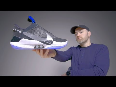 Nike Adapt BB Unboxing - Futuristic Self Lacing Sneakers