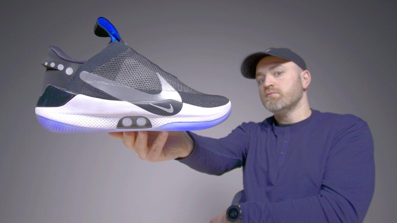 Nike Adapt BB Unboxing - Futuristic Self Lacing Sneakers thumbnail