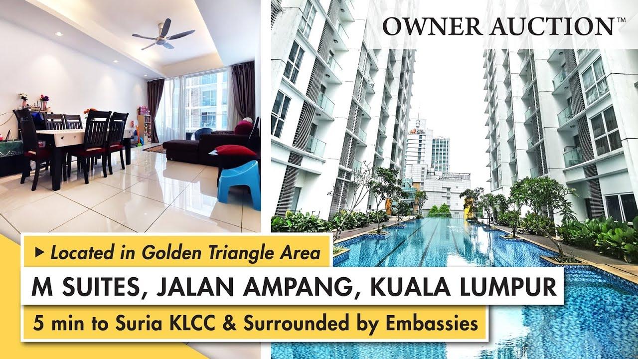 [Owner Auction™] Freehold and Modernized Architectural Design Service Suites - M Suites Jalan Ampang