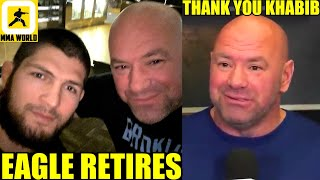 It's Official Dana White announces Khabib's retirement, his belt will be on the line at UFC 262,Cruz