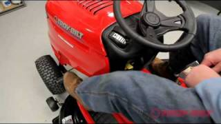 Troy-Bilt riding lawn mower | How to use your riding lawn tractor