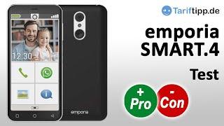 emporia SMART.4 | Test des besonders einfachen Smartphones für z.B. Senioren