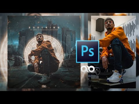 Adobe Photoshop Tutorial – Mixtape Cover (Soolking)