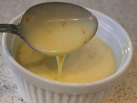 Orange Crème Anglaise Recipe – Classic Custard Sauce for Desserts
