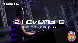 TheCityCancun presents Tiesto 1Nov2011