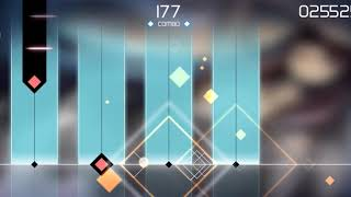 Akari (Voez game) (Gameplay). Lv: 12. FULL COMBO