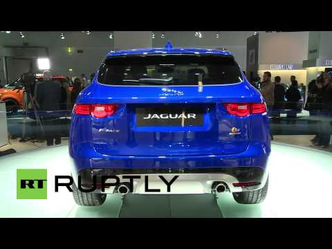 Germany: Jaguar roll out brand new F-Pace SUV at Frankfurt Motor Show