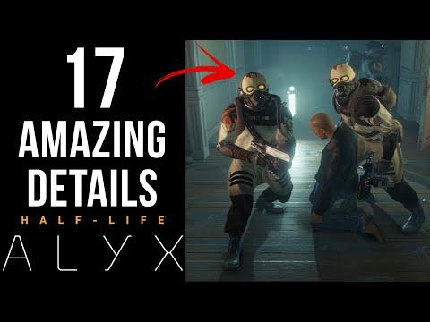 半條命 Alyx  17個超棒的細節