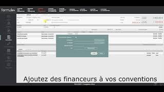 Créer des financeurs (V1 Août 19)