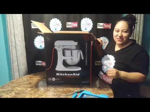 , KitchenAid KSM8990NP 8-Quart Commercial Countertop Mixer, 10-Speed, Gear-Driven, Nickel Pearl