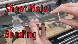 Exploring Sheet Metal Bending