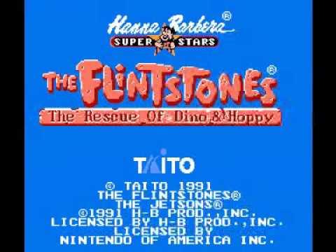 Flintstones, The - The Rescue of Dino & Hoppy (NES) Music - Map Theme