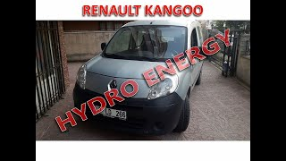 Renault Kangoo 1.5 dci + hidrojen / UCR Hidrojen Yakıt Sistem montajı.