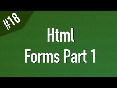 تعلم Html القائمة #1 الفديو #18