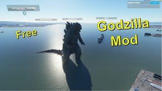 Microsoft Flight Simulator 2020 Scenery Mod - Godzilla