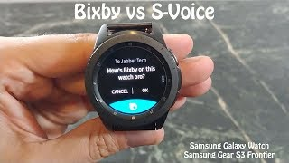 Samsung Bixby on the Galaxy Watch : Really just S-Voice with a new name