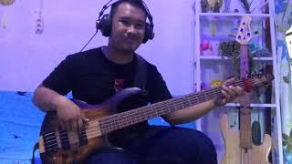 Pharrell Williams - Happy (cover bass by Fandy Vb)