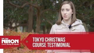 Study Trips: Tokyo Christmas Course Testimonial By Go! Go! Nihon