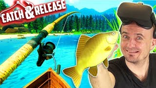 FINALLY A NEW VR FISHING GAME! | Catch & Release VR Gameplay