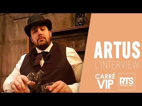 Artus de retour sur RTS... en interview