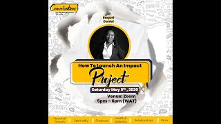 How to Launch an Impact Project with Raquel Daniel
