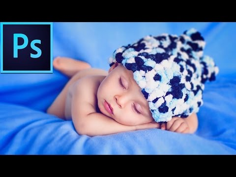 photo retouching tutorial for baby images by photoshop retouching