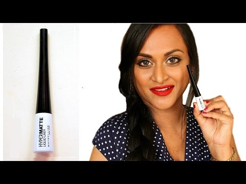 Maybelline Hyper Matte Liquid Eyeliner Review