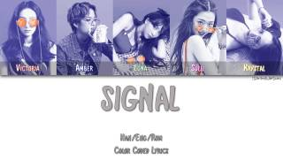 F(X) - SIGNAL (시그널) [Color Coded Han|Rom|Eng|Esp]