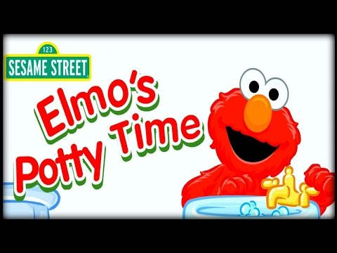 elmo s potty time toddler and infant potty training game for
