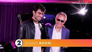 Andrea & Matteo Bocelli - Perfect Symphony (Ed Sheeran Cover) Radio 2 Piano Room