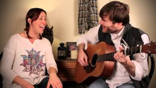"""""""Tonight The Heartache's on Me"""" acoustic cover by DeAnne Wood and Andy Allen"""