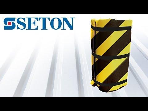 Comment installer le butoir de protection pour colonne à enrouler Prevango, par Seton
