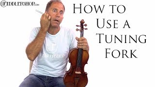 How to Use a Tuning Fork