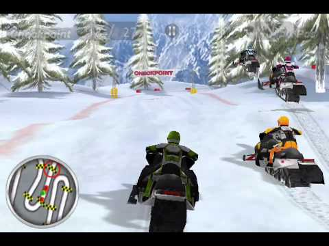 snow moto racing iphone