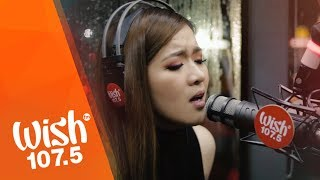 "Angeline Quinto sings ""Nanghihinayang"" LIVE on Wish 107.5 Bus"