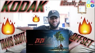 Kodak Black - ZEZE (feat. Travis Scott & Offset) [Official Audio] *REACTION!!* | YBC ENT