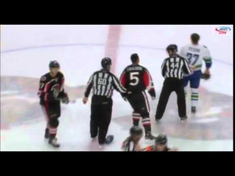 Mark Fraser vs. Andrey Pedan