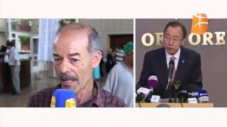 "Le caractère symbolique du ""Azul fellawen"" de Ban Ki-moon"
