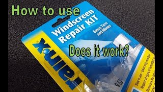 RainX Windshield Repair - Does it work?