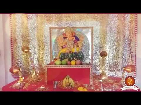 Vaibhav Patkar Home Ganpati Decoration Video