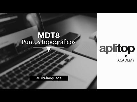 Aplitop - Puntos topográficos con TcpMDT 8