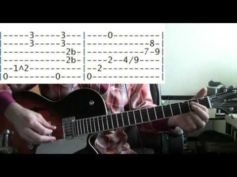guitar lessons online Robin Trower bridge of sighs tab